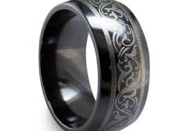 mens titanium rings men39s black titanium wedding ring 7mm just men39s rings mens