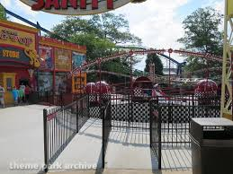 Six Flags Over Georgia Parking Theme Park Archive Joker Chaos Coaster Six Flags Over Georgia