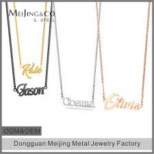 stainless steel name necklace images Stainless steel name necklace stainless steel name necklace jpg