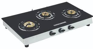 3 Burner Glass Cooktop Buy Glass Top Gas Stove Online