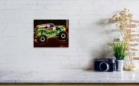 grave digger monster truck poster grave digger monster truck poster by paul van scott