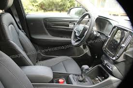 mitsubishi adventure 2017 interior volvo xc40 suv spied first peek at new crossover u0027s interior by