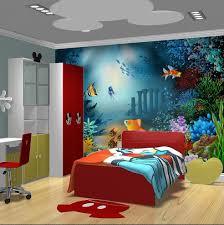 wallpaper cartoon non woven children room self adhesive bedroom tv