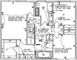 fancy 4 house electrical layout sample drawing for the wiring