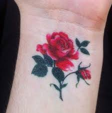 40 lovely rose tattoos and designs