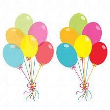 palloncini clipart partito clipart palloncini palloncini colorati clip