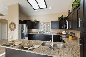 Kitchen Cabinets And Flooring Combinations Arizona Venetian Gold Granite Countertops Capital Granite