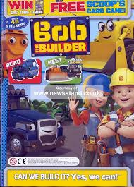 bob builder magazine subscription buy newsstand uk