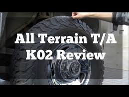 33 12 50 R20 All Terrain Best Customer Choice All Terrain T A K02 Review On 2nd Gen Dodge Youtube