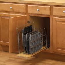 9 cabinet pull out organizer knape vogt 14 in h x 9 in w 22 in d pull out tray divider