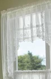 Heirloom Lace Curtains Heirloom Sheer Heritage Lace Insert Valance Jane Ashley