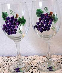 wine glass painting painting with influence