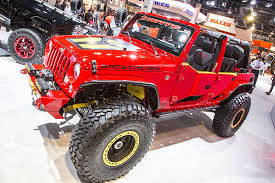 power wheels jeep 90s truck trend u0027s best of the 2016 sema show