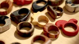 jewelry wooden rings images Wood rings by rad megan creativebug jpg