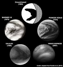 pattern of white clouds in streaks a y drawn on the clouds of venus 1 mapping ignorance