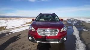 2017 subaru outback 2 5i limited black 2016 subaru outback 2 5i limited youtube