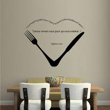 stickers muraux cuisine citation drôle cuisine citations autocollant restaurant cuisine amovible