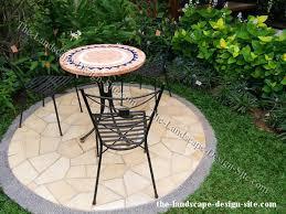 Small Garden Patio Designs Small Bistro Patio Garden Ideas