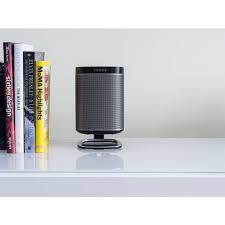 The Desk Set Play Flexson Desk Stand For Sonos Play 1 Black Set Wifimedia