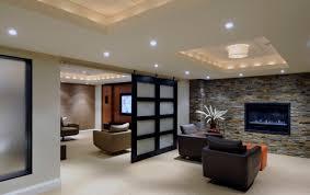 unfinished basement lighting ideas