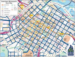 Minneapolis Map Usa by Minneapolis Downtown Map