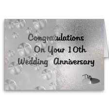 Beautiful Wedding Quotes For A Card Happy 10th Ten Wedding Marriage Anniversary Wishes Quotes