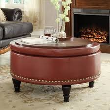 Storage Ottoman Coffee Table Ottomans Poufs Wayfair