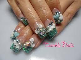 acrylic nail designs 3d nailed it pinterest acrylic nail