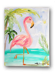 halloween canvas paintings what colors to use for a blended black background look 40 canvas paintings for kids flamingo painting flamingo and