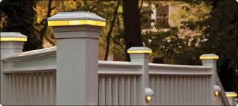 trex post cap lights lighting for post caps