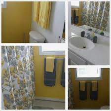 Yellow Bathroom Ideas Awesome Gray And Yellow Bathroom Ideas Bathroom Ideas
