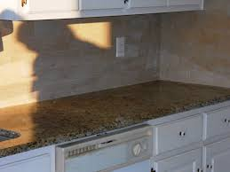 giallo ornamental granite countertop kitchen traditional with 3x6