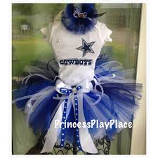 Dallas Cowboys Cheerleader Halloween Costume Dallas Cowboys Inspired Cheerleader Football Tutu