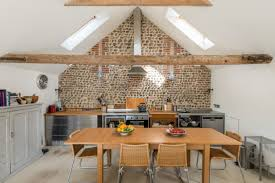 bright modern kitchen converted english barn becomes bright modern home wants 646k