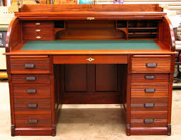 oak roll top computer desk 123 outstanding for ashley roll top
