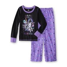 halloween pjs for girls star wars u0027s pajamas the force