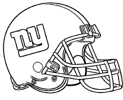 football helmet new york giants coloring pages football parties