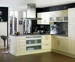 Nice Homes Interior Kitchen Simple L Shape Modern Kitchen Cabinets Cool Modern