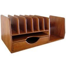 Modern Desk Organizer A Hans Wegner Danish Teak Wood Desk Organizer C 1960 U0027s Hans