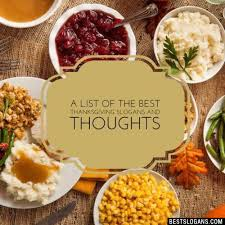 catchy thanksgiving slogans taglines mottos business names