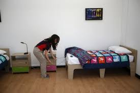 Temporary Beds Olympic Village Beds In London Too Short And Small For Some Athletes