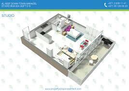 studio apartment uptown dallas interior design
