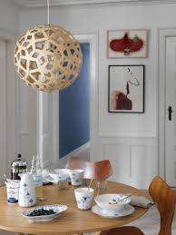 set your morning table with blue elements and get a scandinavian