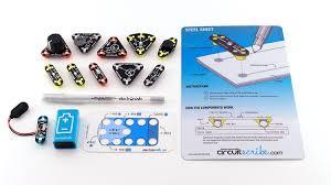amazon com circuit scribe maker kit u2013 includes stem workbook