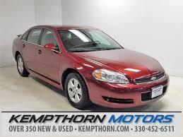 2009 impala airbag light used 2009 chevrolet impala for sale canton oh
