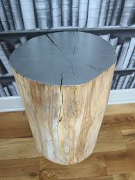 Tree Stump Side Table Distinctive Tree Stump Side Table Beblincanto Tables Diy Tree