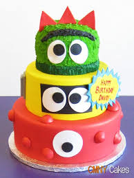 yo gabba gabba birthday cake3d cards 7 best sb cakes images on cake decorating spongebob and