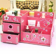 how to make makeup box at home daily diy box organizer