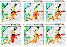 Baltic Sea Map Chlorophyll A Helcom