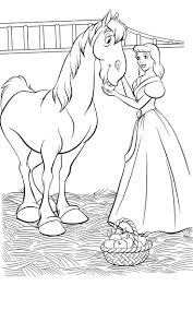 cinderella mouse coloring pages mice colouring cinderella mice
